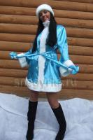 Костюм Снегурочки бирюзовый (№ 11)