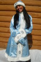 Костюм Снегурочки голубой (№ 12)