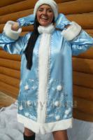 Костюм Снегурочки голубой (№ 17)