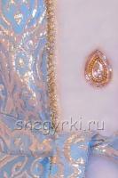 Костюм Снегурочки золотистый (№22)