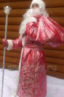 Костюм Деда Мороза красный (№12)